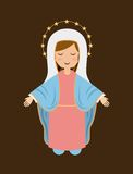 Holy Mary design Royalty Free Stock Image