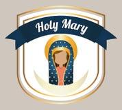 Holy mary Stock Photo