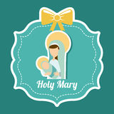 Holy mary Royalty Free Stock Photo