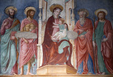holy Mary from Florence church Royalty Free Stock Photo