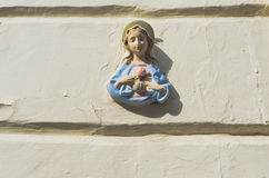 Holy Mary icon Royalty Free Stock Images