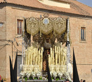 Holy Mary of the Incarnation. Easter Córdoba stock image