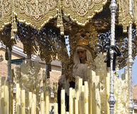 Holy Mary of the Incarnation. Easter Córdoba royalty free stock images