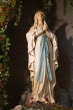 Holy Mary from Lourdes. Statue from Vienna chruch Royalty Free Stock Image