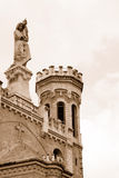 Holy Mary, Notre Dame of Jerusalem. Royalty Free Stock Photos