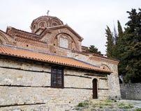 Holy Mary Peribleptos church in Ohrid Royalty Free Stock Photos