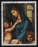Holy Mary by Raphael Stock Photos