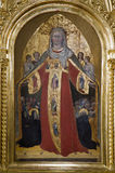 Holy Mary from Siena church Royalty Free Stock Photos