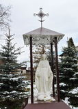 Holy Mary statue, Lithuania Royalty Free Stock Photo