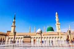 The Holy Masjid Madinah Beautiful view