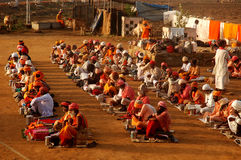 Holy Men In India Stock Photos