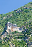 Holy monastery of athos Royalty Free Stock Photo