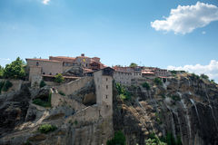 Holy Monastery of Great Meteoron Stock Image