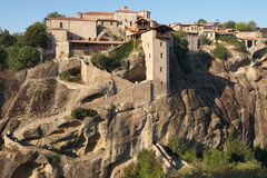 Holy Monastery Of Great Meteoron Stock Images