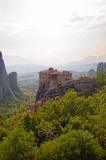 The Holy Monastery of Rousanou Royalty Free Stock Photography