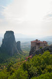 The Holy Monastery of Rousanou at Meteora Stock Photography