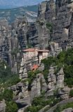 Holy Monastery of Rousanou, Meteora, Greece Royalty Free Stock Photos