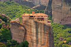 Holy Monastery of Rousanou in Meteora Royalty Free Stock Image