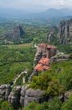 Holy Monastery of Rousanou Royalty Free Stock Image