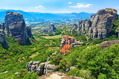 The Holy Monastery of Rousanou-St. Barbara. Royalty Free Stock Images