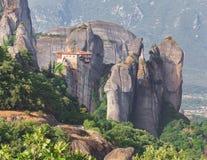 The Holy Monastery of Rousanou Stock Photo