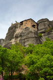 The Holy Monastery of St. Nicholas Anapausas, Meteora, Greece Stock Photos