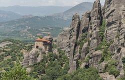 Monastery of St. Nicholas Anapausas, Meteora, Greece Royalty Free Stock Photos