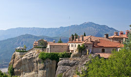 Holy Monastery of St. Stephen. Meteora Stock Photo