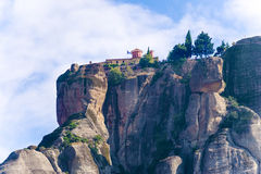The Holy Monastery of St. Stephen, Meteora Greece Royalty Free Stock Photos