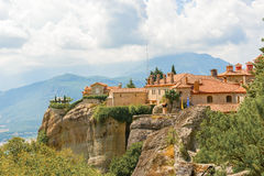 The Holy Monastery of St. Stephen, Meteora, Greece Royalty Free Stock Images