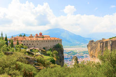 The Holy Monastery of St. Stephen, Meteora, Greece Royalty Free Stock Photo