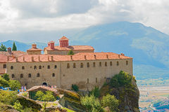 The Holy Monastery of St. Stephen, Meteora, Greece Stock Photography