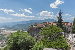 Holy Monastery of St. Stephen, Meteora, Greece Royalty Free Stock Images
