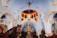 Holy Monastery of TOURLIANI Royalty Free Stock Photos