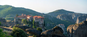 The Holy Monastery of Varlaam Royalty Free Stock Photography