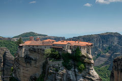 Holy Monastery of Varlaam Royalty Free Stock Image