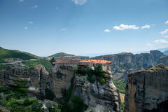 The Holy Monastery of Varlaam Royalty Free Stock Image
