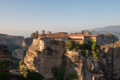 The Holy Monastery of Varlaam Stock Images