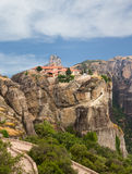 The Holy Monastery of Varlaam in Meteora Stock Image