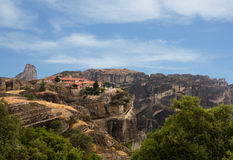 The Holy Monastery of Varlaam in Meteora Royalty Free Stock Image