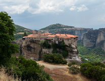 Holy Monastery of Varlaam at Meteora Royalty Free Stock Photo