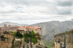 The Holy Monastery of Varlaam Stock Photography