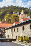 Holy Monastery of the Virgin of Kykkos in Troodos mountains, Cyp Stock Photography