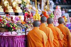 Holy Monks Royalty Free Stock Photos