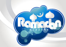 Holy month of Muslim community, Ramadan Kareem celebration with creative illustration. Stock Photos