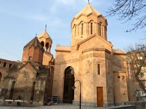 Holy Mother of God Kathoghike Church, Yerevan Royalty Free Stock Image