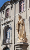 Holy Mother Statue Carcassonne France Royalty Free Stock Image
