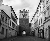 Holy Mothers Gate Jihlava stock photography