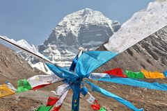 Free Holy Mount Kailash In Tibet Royalty Free Stock Photography - 25323237