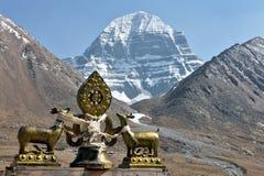 Holy Mount Kailash In Tibet Royalty Free Stock Photo